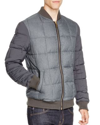 Scotch & Soda Quilted Nylon Bomber Jacket | Bloomingdale's