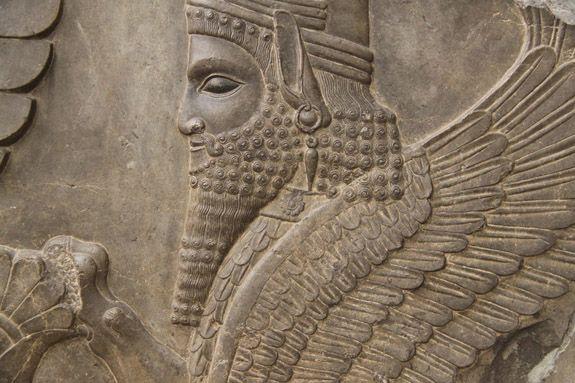 Ahura Mazda the Persian God: Ahura Mazda the representation of the Universal Intelligence