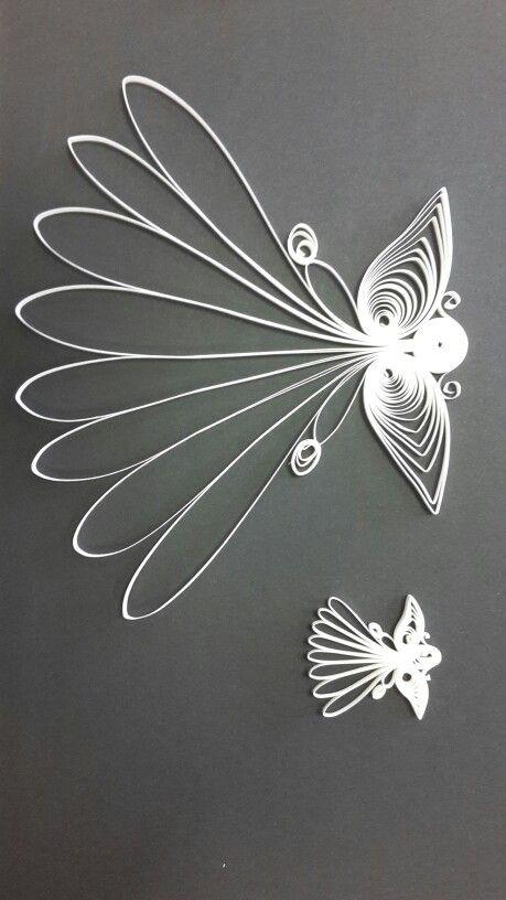 Quilling Engel groß und klein - Karen - Marie Klip
