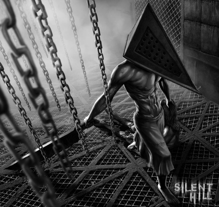 Pyramid Head - Silent Hill Boris Dyatlov