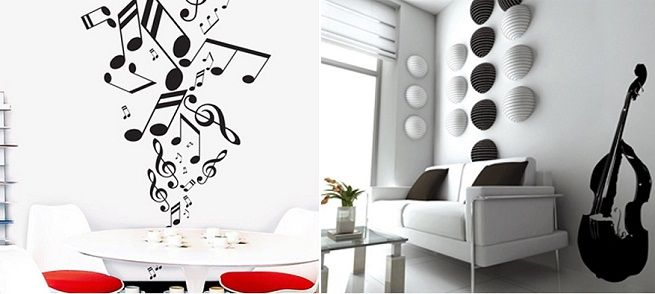 M s de 1000 ideas sobre decoraci n de pared musical en for Vinilos musicales decoracion