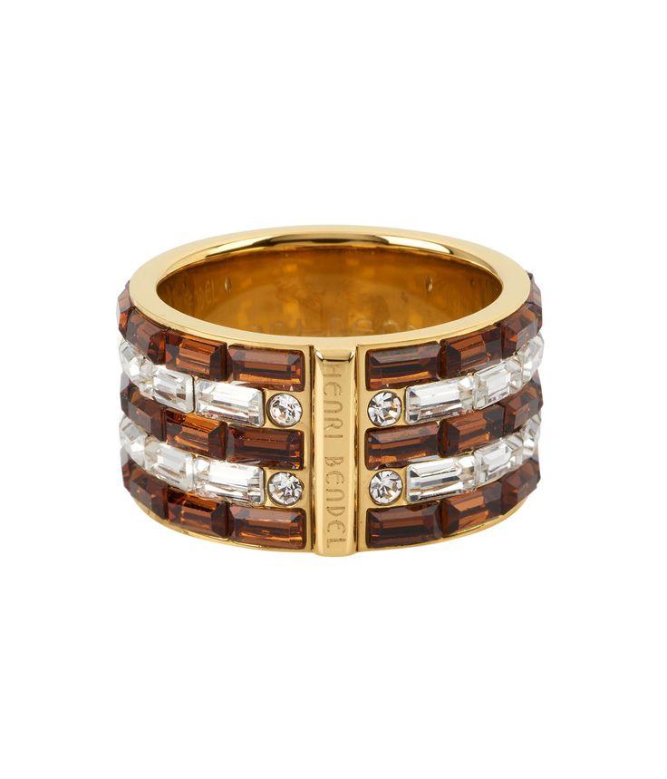 Henri Bendel Striped Ring  | @giftryapp