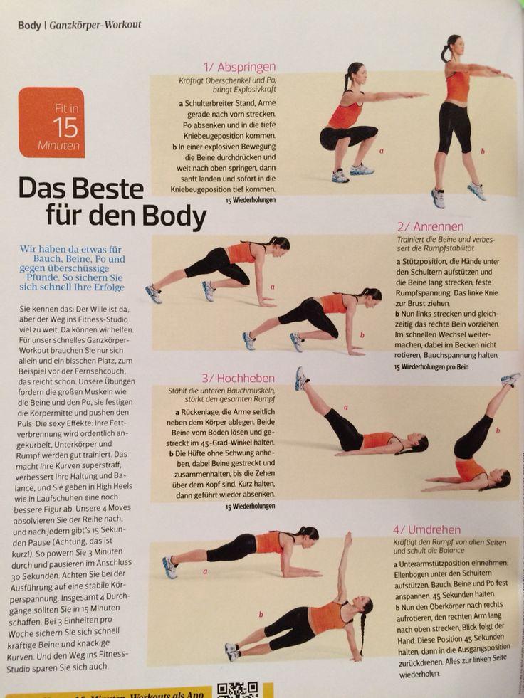 Workout/Ganzkörpermassage