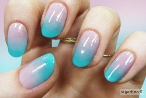 Nail art passo passo: unghie sfumate