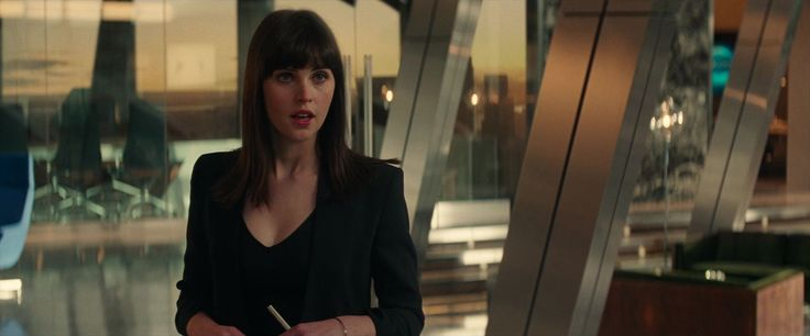Felicity Jones in the film 'The Amazing Spiderman 2' (2014)