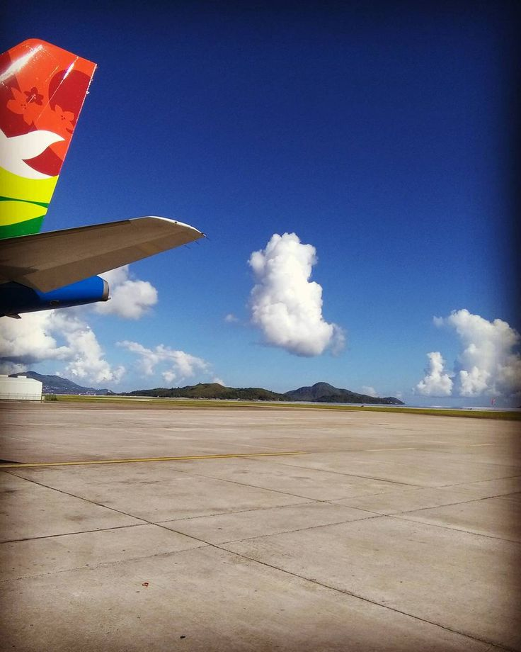 An airport by the sea...wow...Seychelles Airport