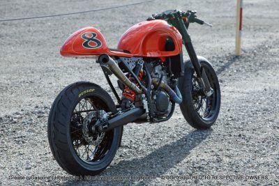 KTM 525 EXC Café Moto ~ RSD   Grease n Gasoline