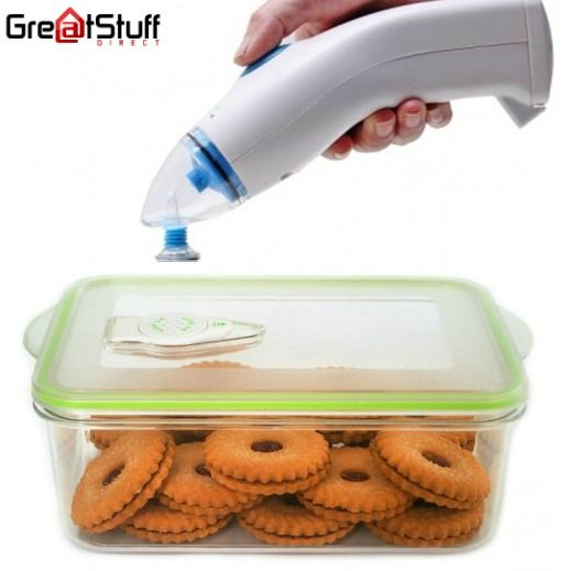 If you get the #vacuum #sealer from #greatstuff, you can be assured that the air and moisture is effectively removed around the food, and that the food container is actually sealed in properly. To place your order, visit  https://www.greatstuffdirect.com.au/product/vacuum-sealer/ #Vacuumsealer #Greatstuffdirect