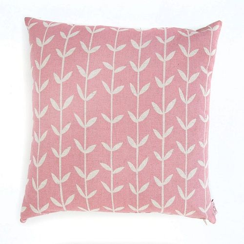 Solid Orla Strawberry Cushion