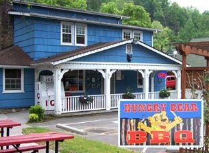Gatlinburg Best BBQ Restaurant - The Hungry Bear BBQ.....CHEAP kids menu, adults $9-12. Look at Picnic Packs