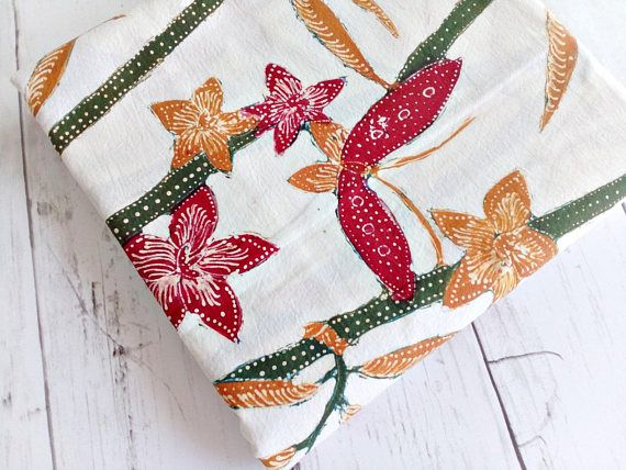 Indonesian Batik Fabric Cotton With Colorful Butterfly and  https://www.etsy.com/JagataraArtVintSup/listing/555629799/indonesian-batik-fabric-cotton-with  #etsy #etsyfinds #batikfabric #batiktextileart #batiktextiles #collectiblesrare #traditionalfabric #traditionalfabrictextiles #ethnicfabric #ethnictextiles #asiantextiles #handmadetextiles #handmadefabric