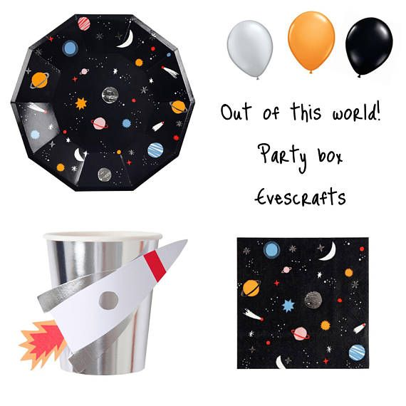 space themed birthday party rocket birthday party planets