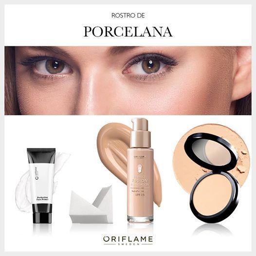Con los productos indicados, un rostro de porcelana es posible. #makeup #OriflameMX