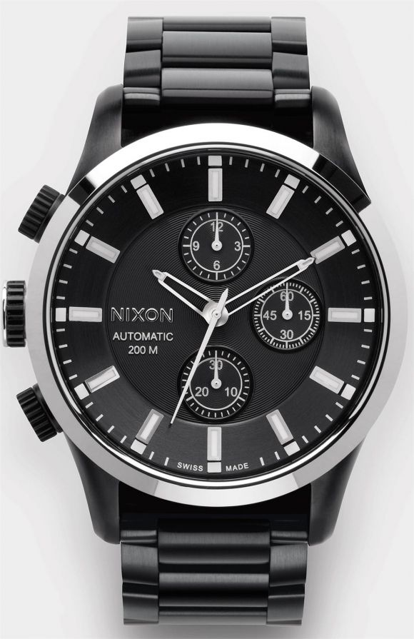 Automatic Chrono LTD by Nixon #watch #men #nixon