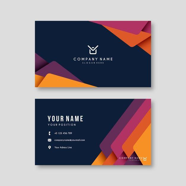 Telechargez Resume De Modele De Carte De Visite Colore Gratuitement Business Card Software Download Business Card Free Business Card Templates