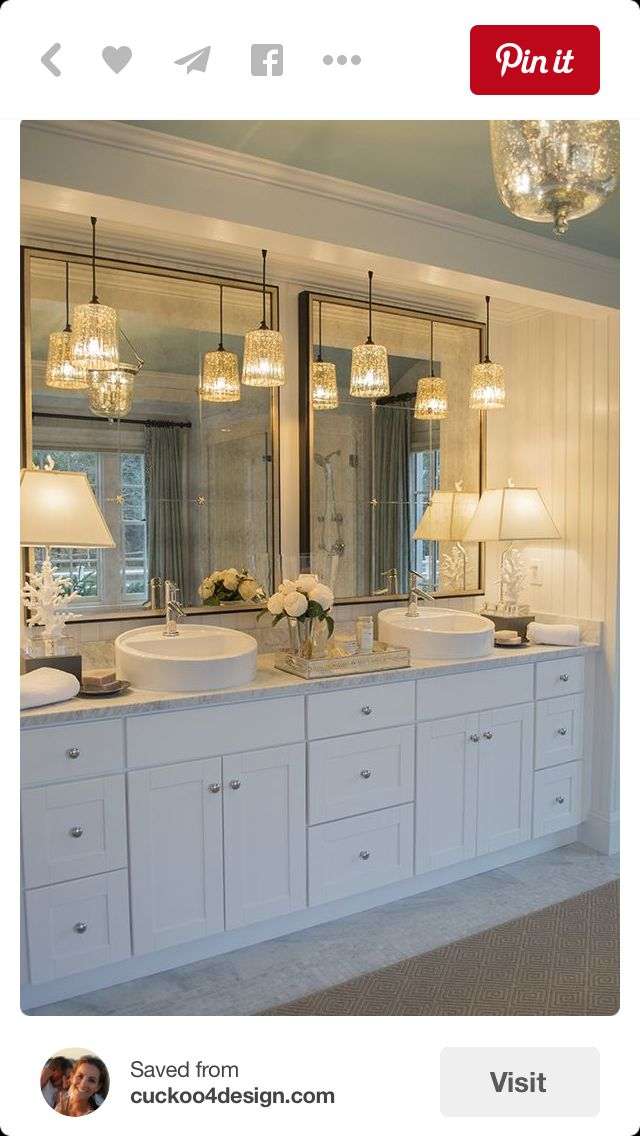 Dual sinks & mirrors