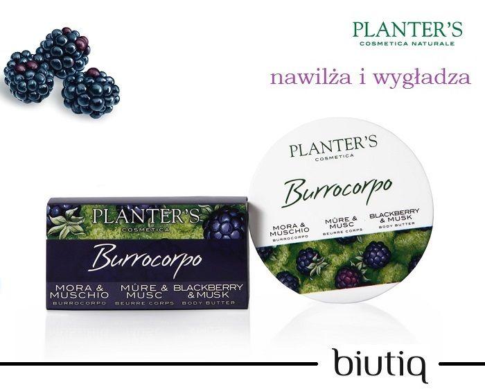 Planter's - Wygładzające masło do ciała z ekstraktem z jeżyn