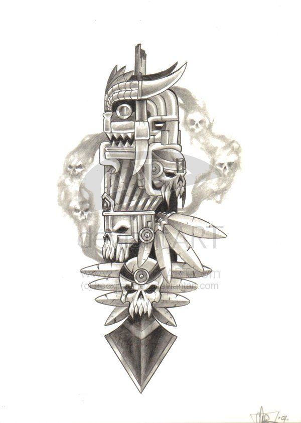 11 best my tats images on pinterest aztec aztec art and aztec culture. Black Bedroom Furniture Sets. Home Design Ideas