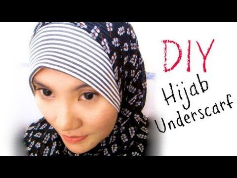 ▶ DIY: Hijab Underscarf / Anak Tudung Syria - YouTube  **do yourself a favor and use a sewing machine instead of hand sewing ;)