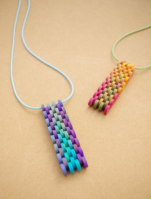 Polymer Clay Pendants | Flickr: Intercambio de fotos