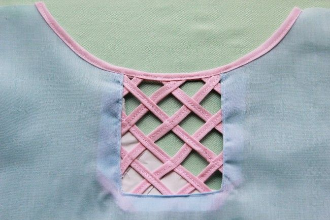 This would be a perfect addition to a skirt you wanted to lengthen a bit.