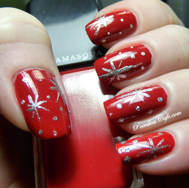 346 best Christmas Nails images on Pinterest   Christmas nails ...