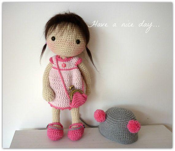 Amigurumis ganchillo muñeca Aya por Rusi muñecas por RusiDolls
