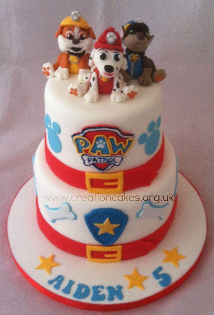 Paw Patrol Tiered Birthday Cake