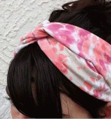 Adorable DIY headband from old T-shirts / Csinos fejpánt régi pólóból / Mindy -  creative craft ideas