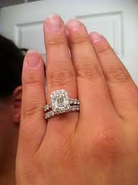 Emerald Cut Diamond Engagement Ring Google Search