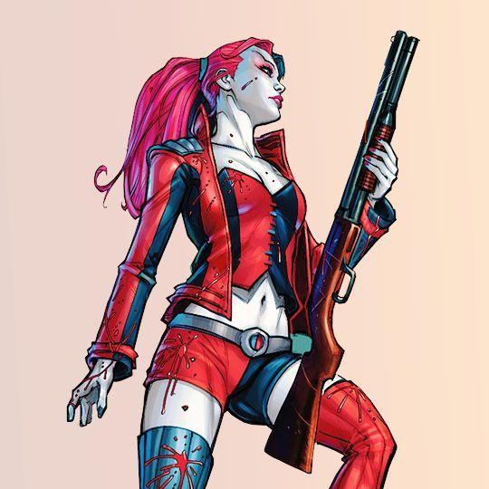 Segundo post de fotos da Alerquina |Harley Quinn , por que sim !
