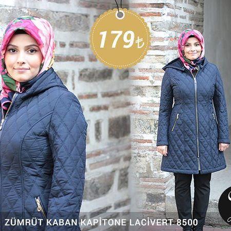 Zümrüt Kaban Kapitone Lacivert 8500 Fiyat, soru ve siparişleriniz için bizi arayabilir veya Whatsapp üzerinden iletişime geçebilirsiniz : 0 545 675 16 16 #moda #kaban #manto #sonbahar #pardesü #hijab #tesettür #kapalıgiyim #tesettürgiyim #fashion #hijabfashion #trend #kombin #kaşe #tesettürmoda #deri #style #stil #bursa #çarşı #yenisezon #tesettürtrend #türban #tunik #eşarp #başörtüsü #kampanya #indirim #fallwinter #ferace