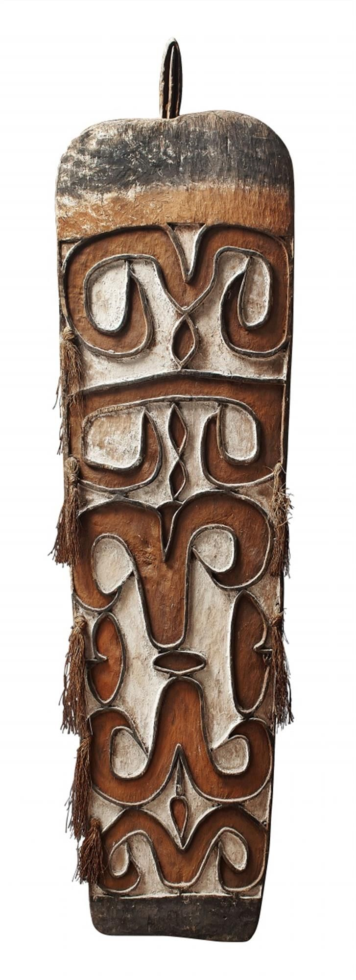 Papua, IndonesiaAN ASMAT SHIELD, Auction 1054 African and Oceanic Art, Lot 140