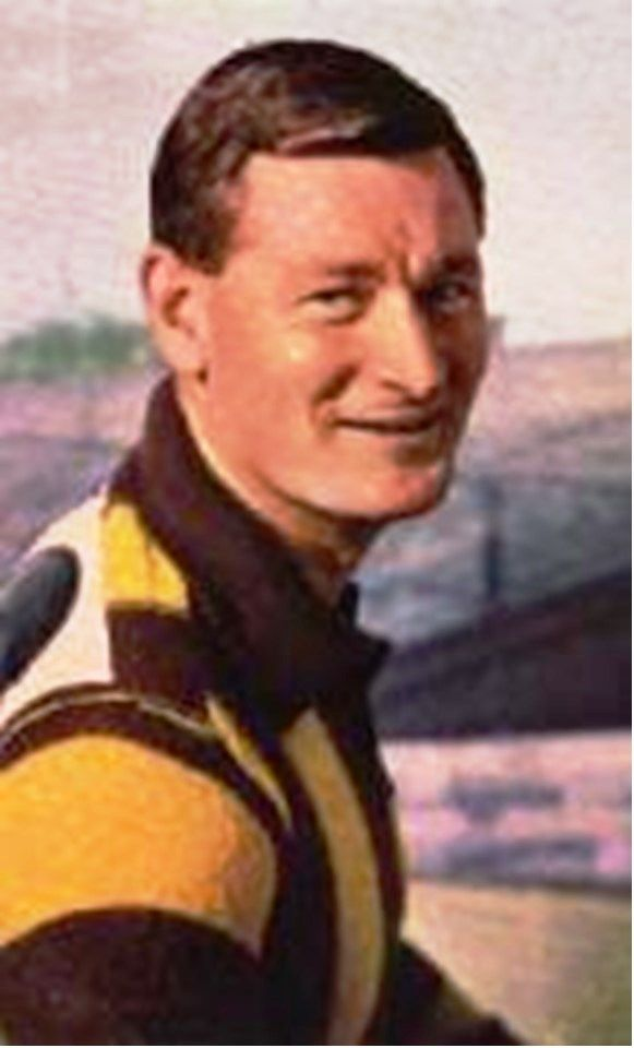 Graham Arthur. Played 1955-1968. Games Hawthorn 232. Coach Hawthorn 1964-65. Premiership captain 1961.