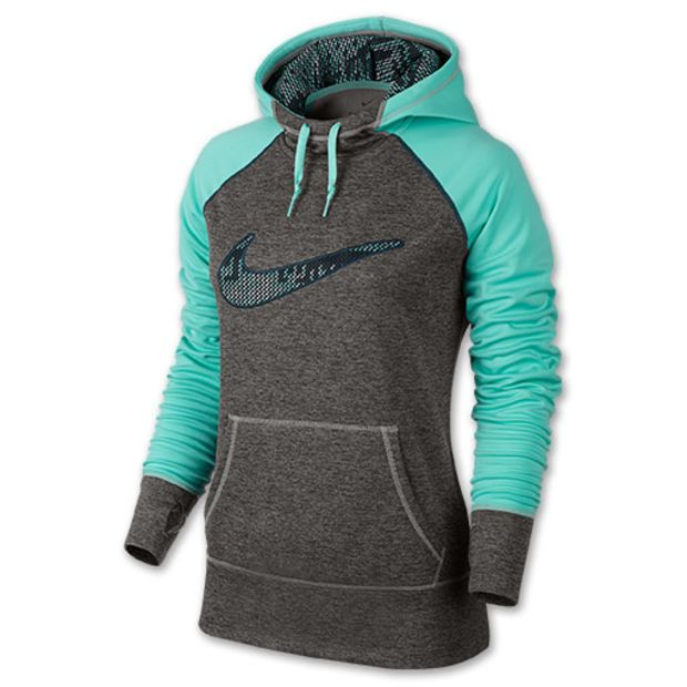 Women's Nike Swoosh Out All Time Printed Hoodie