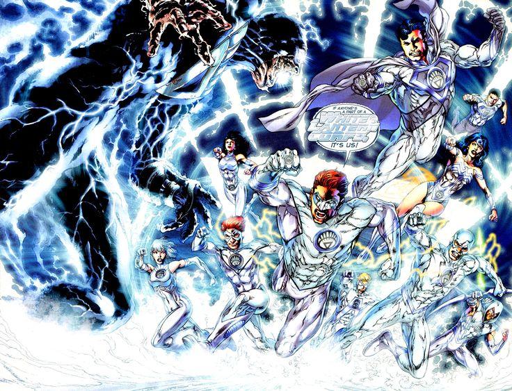 White Lantern Corps vs Nekron by Ivan Reis