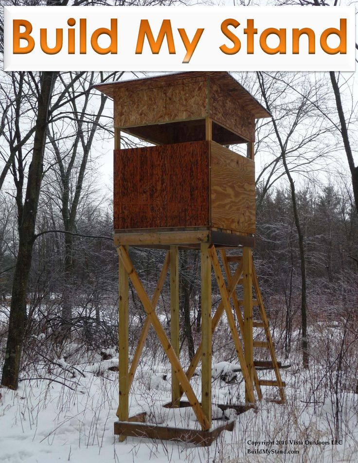 deer stands deer and treehouse on pinterest