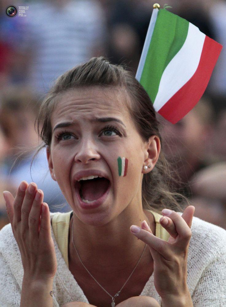 Tifo che passione! Forza Azzurri! #italia #calcio #brasile2014 #mondiali