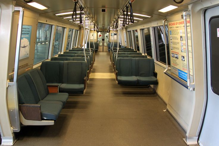 Inside of a BART car (With images) Bay area rapid