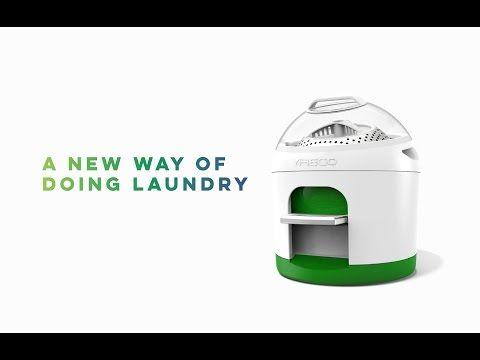 Eco-friendly mini washing machine - Drumi