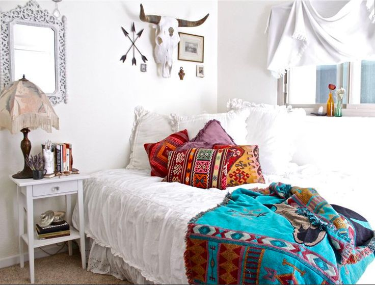 1000 images about boho decor on pinterest for Dormitorio hippie chic