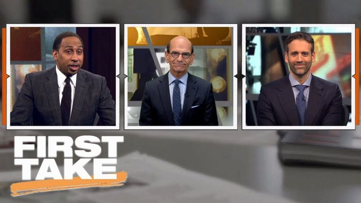 (adsbygoogle = window.adsbygoogle || []).push();           (adsbygoogle = window.adsbygoogle || []).push();  First Take's Stephen A. Smith and Max Kellerman, along with guest Paul Finebaum, debate latest College Football Playoff rankings.  ✔ Subscribe to ESPN on YouTube: h...