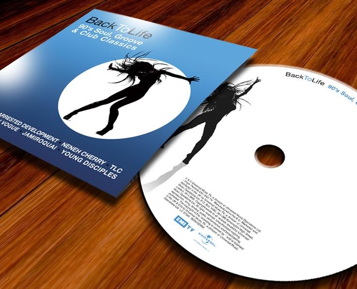 Back To Life - Universal Records 3CD Box set design.