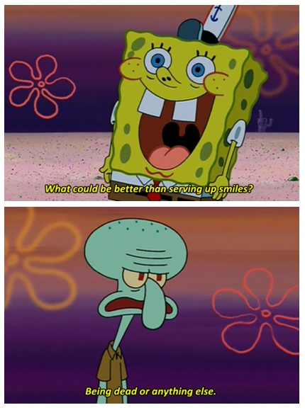 embarrassed spongebob - photo #13