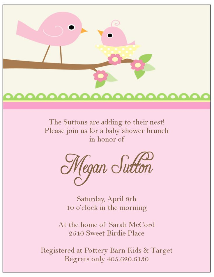 13 best baby shower images on Pinterest Shower invitation - baby shower invitation templates for microsoft word