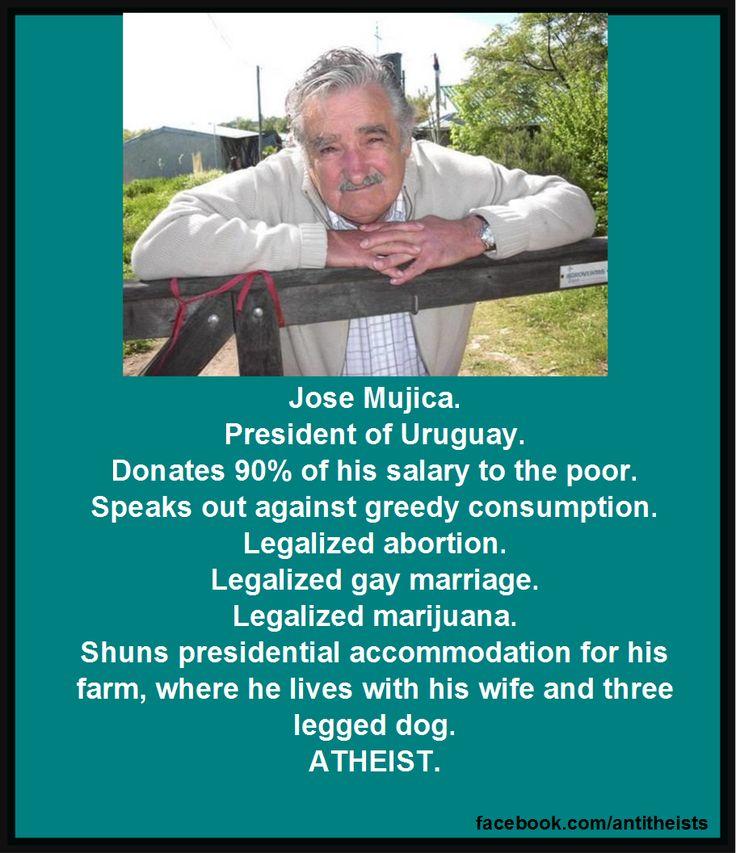 Jose Mujica, ex president of Uruguay