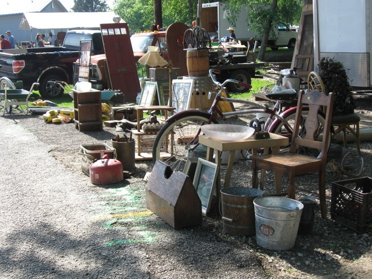 World's biggest flea market  Canton flea market - anything you want Can't wait to dig through all this!!
