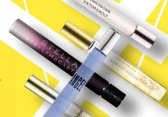 Rollerball perfumes: Perfect purse-sized fragrances. Click the image to see our favorites. #Sephora