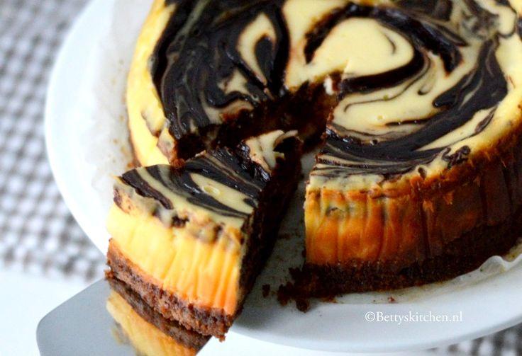 Dit wil ik ook proberen: een kwarktaart met chocolade uit de CrockPot! Een soort gestoomde cheesecake!