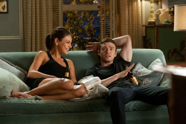 """Dylan (Justin Timberlake): """"Why do women think the only way to get men to do what they want is to manipulate them?"""" // Jamie (Mila Kunis): """"History, personal experience, romantic comedies."""" -- from Friends with Benefits (2011) directed by Will Gluck"""